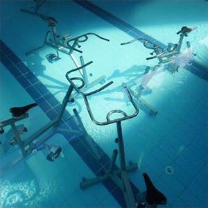 Aquabiking chez Equiliforme.